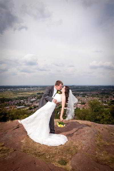 Frodsham castle wedding